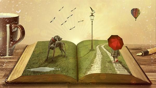 Ein aufgeschlagenes Buch als Zeichen für die Lesbarkeit