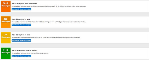 OnPage Optimierung Description und Title