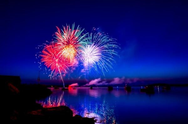 Feuerwerke für 2018