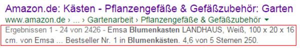 Gesetzte Meta-Description durch Google