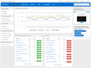 Search Console im SEO Tool PageRangers