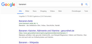 Organisches Suchergebnis
