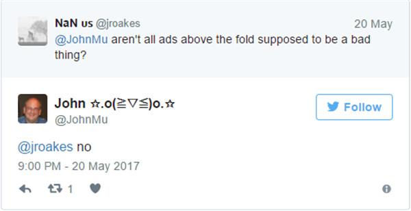 Google Mitarbeiter verneint Google Abstrafungen durch Ads