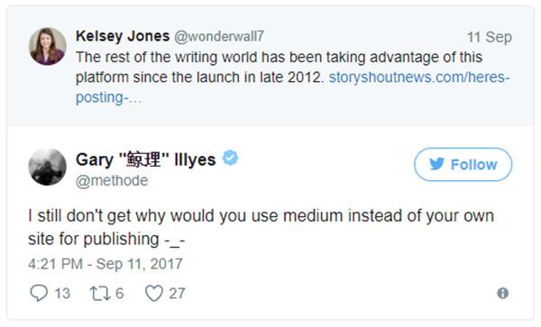 Der Google Mitarbeiter hat seinem Frust auf Twitter freien Lauf gelassen