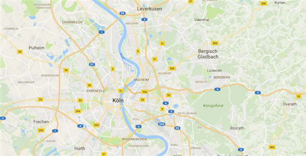 Google Maps im neuen Look on